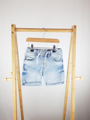 H&M soft denim shorts 4-5 years