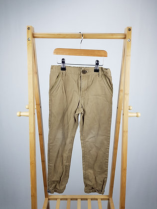F&F brown trousers 6-7 years