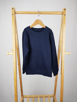 Lily & Dan navy school sweater 6-7 years