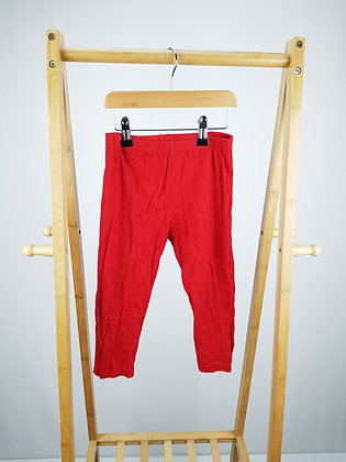 Primark red pyjama bottoms 3-4 years