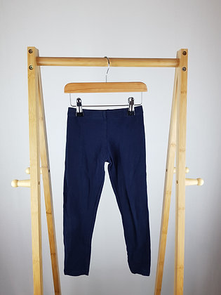 Young dimension navy leggings 5-6 years