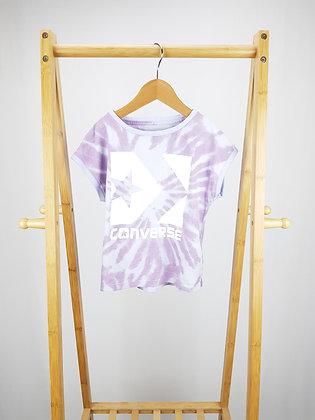 Converse lilac t-shirt 5-6 years