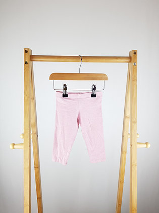 F&F pink leggings 3-6 months