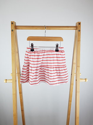 Kids division striped skirt 6-7 years