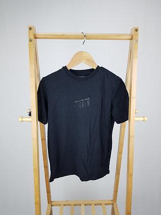 F&F black t-shirt 10-11 years