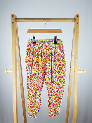 Zara floral harem trousers 5-6 years