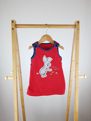 Disney at George Piglet fleece dress 3-6 months