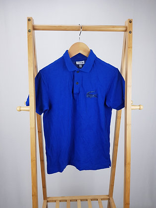 Lacoste blue polo shirt 12 years