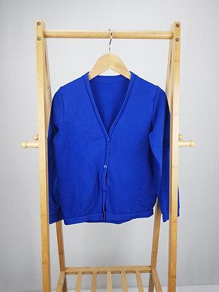 George blue school cardigan 10-11 years