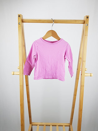 George lilac long sleeve top 18-24 months