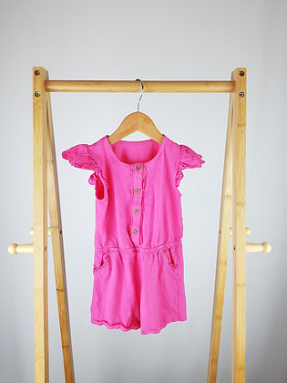 Mothercare pink romper 18-24 months