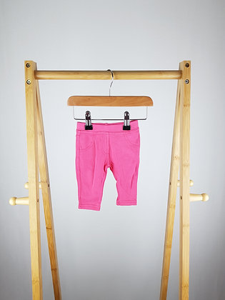F&F pink leggings 0-3 months