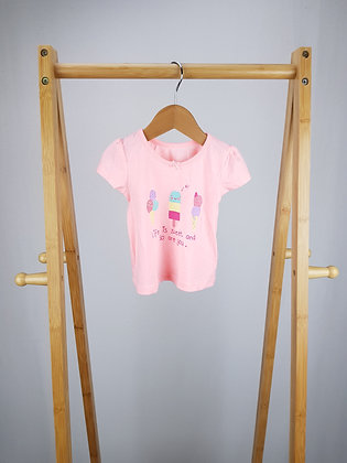George life is sweet t-shirt 3-6 months