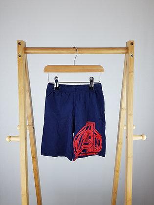 George Marvel Avengers navy shorts 2-3 years
