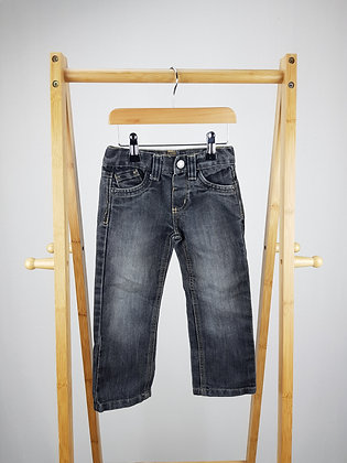Denim Co straight jeans 3-4 years