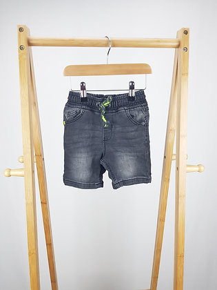 George soft denim shorts 18-24 months