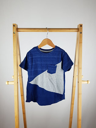 Rebel blue t-shirt 3-4 years