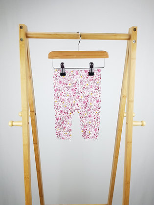 George floral leggings 3-6 months