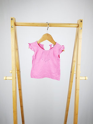 Early days pink diamante t-shirt 6-12 months