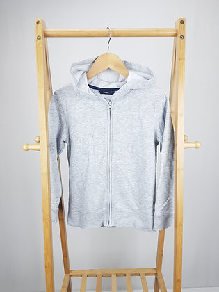 George grey zipped hoodie 8-9 years