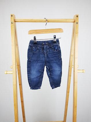 Denim Co soft denim jeans 6-9 months