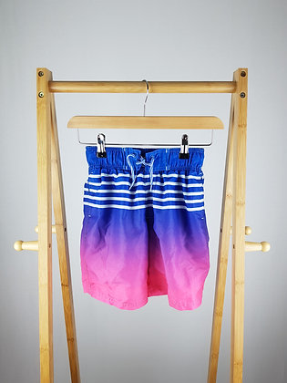 Rebel ombre shorts 9-10 years
