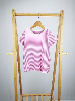 F&F striped t-shirt 6-7 years