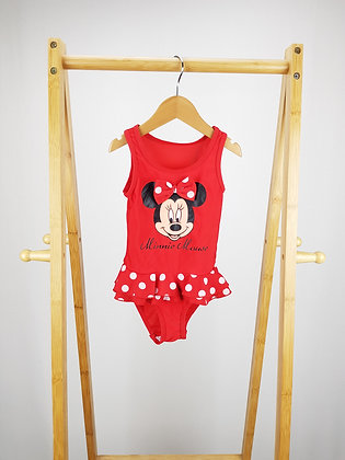 Disney Minnie Mouse swimsuit 2-3 years