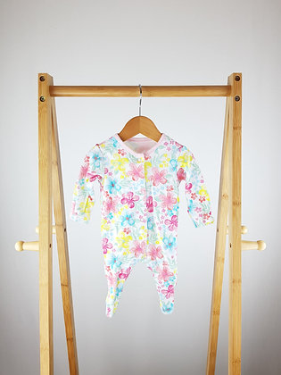 George floral sleepsuit first size