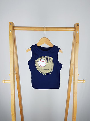 Circo baby boy sleeveless top 9-12 months