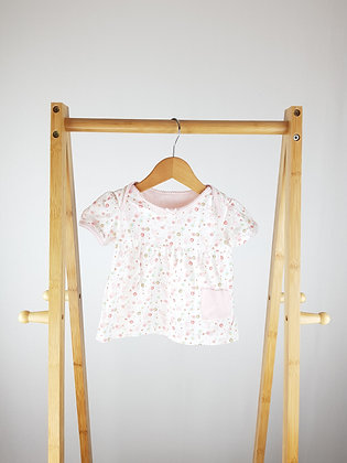Mothercare pink t-shirt 9-12 months
