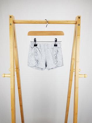 F&F grey shorts 12-18 months