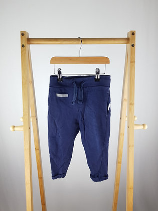 Reserved navy joggers 2-3 years