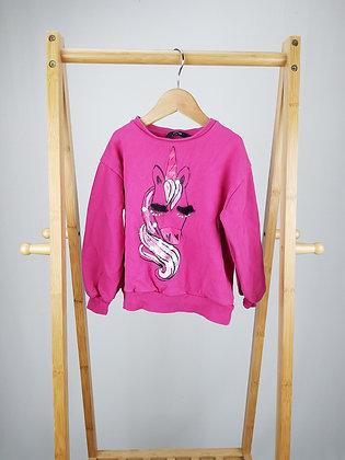 George pink unicorn sweater 5-6 years