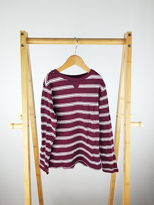 M&S striped long sleeve top 5-6 years