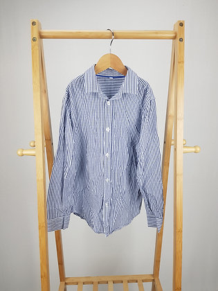 M&S checked formal shirt 8-9 years