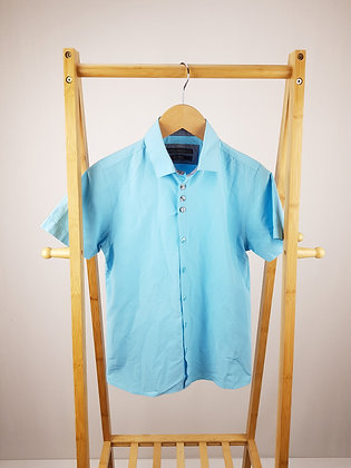 Next blue short sleeve shirt 11 years