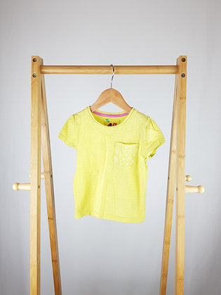 TU yellow t-shirt 18-24 months