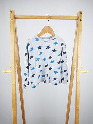 F&F long sleeve pyjama top 3-4 years(small fit)