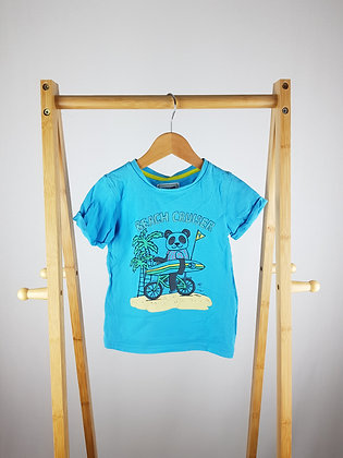 Mothercare blue t-shirt 3-4 years
