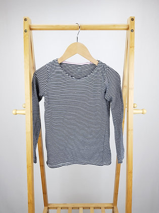 H&M striped long sleeve top 8-10 years
