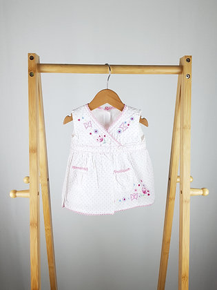Matalan embroidered top 6-9 months