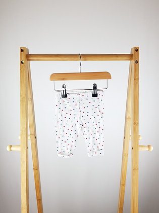 The little white company star print bottoms 0-3 months