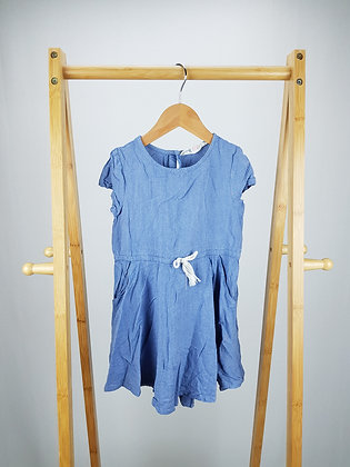 H&M blue dress 4-5 years