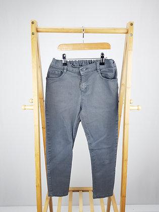 F&F grey denim jeans 10-11 years