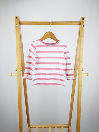 F&F striped long sleeve top 12-18 months