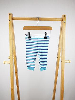 M&S striped bottoms 3-6 months