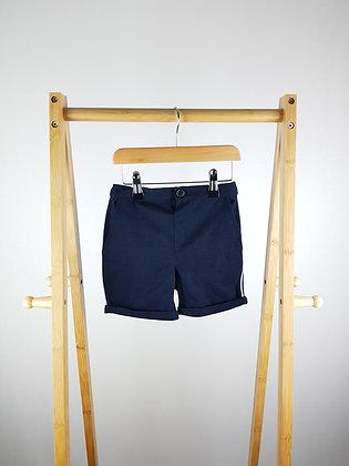 River Island navy shorts 18-24 months