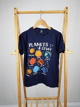 M&Co planets & stuff t-shirt 12-13 years