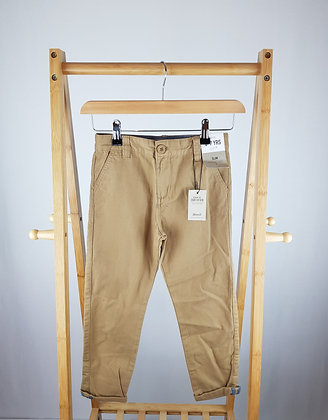 Denim Co sand trousers 6-7 years